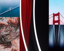 建筑桥梁风景拍摄高清图片