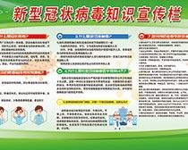 新型冠状病毒肺炎知识展板设计