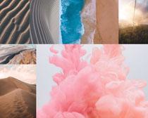 沙漠風景寫真拍攝高清圖片