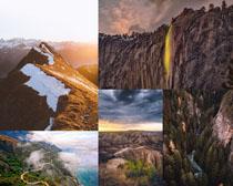 高山山川風景拍攝高清圖片