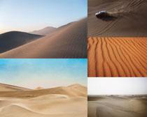 美麗的沙漠風光攝影高清圖片