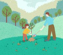 世界环境保护植树节PSD素材