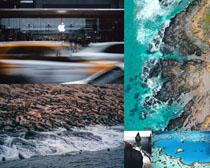 美丽的大海风光摄影高清图片