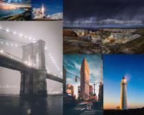 大厦桥梁建筑风景拍摄高清图片