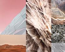 山景色背景壁紙畫PSD素材