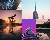 建筑景观风景拍摄高清图片