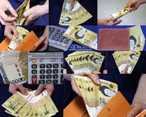 日元金融商務攝影高清圖片