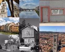 歐洲建筑小屋攝影高清圖片