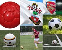 體育運動踢足球拍攝高清圖片
