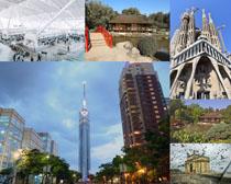 外國建筑景觀拍攝高清圖片