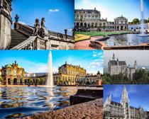 法国建筑美景拍摄高清图片
