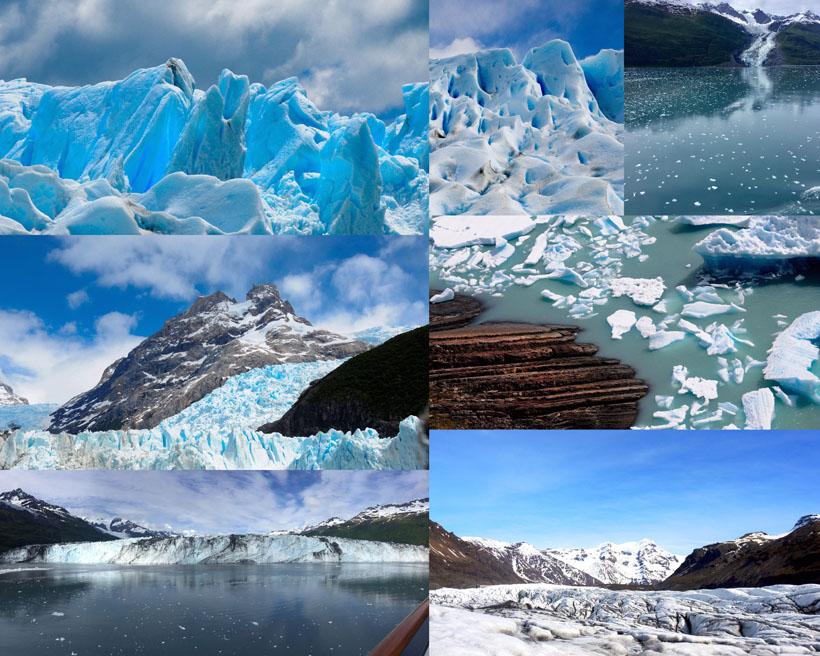 冰川世界風景拍攝高清圖片