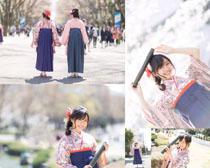 日本可愛服裝女人攝影高清圖片