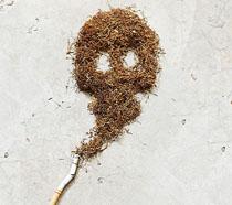 吸烟有害健康公益海报PSD素材