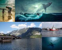 大海生態環境風景拍攝高清圖片