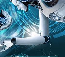 机器人体验封面海报PSD素材