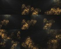 金色噴霧效果拍攝高清圖片
