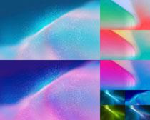 色彩星空背景效果拍攝高清圖片