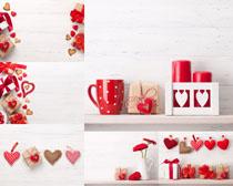 情人節愛心杯禮物攝影高清圖片