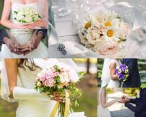 婚礼新人摄影高清图片