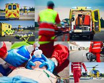 国外急救人员摄影高清图片