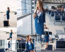国外空姐写真拍摄高清图片