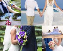 浪漫夫妻婚纱摄影高清图片