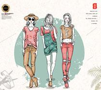 卡通服裝加工廣告PSD素材