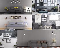 简约室内家居设计风格摄影高清图片