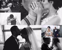 甜蜜的国外婚礼人物摄影高清图片