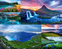 美丽的山河风光写真拍摄高清图片