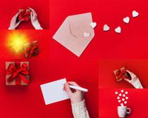 礼物与爱心节日摄影高清图片