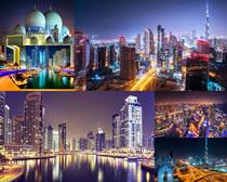 城市夜景建筑写真拍摄高清图片