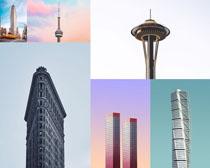 歐美建筑大廈景觀攝影高清圖片
