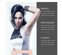 歐美模特服裝廣告PSD素材