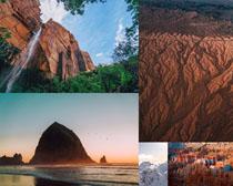 高山大海美景拍攝高清圖片
