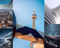 国外城市建筑景观拍摄高清图片