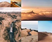 荒野戶外風光拍攝高清圖片
