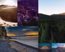 美麗的自然景觀拍攝高清圖片