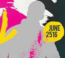 色彩派对音乐海报PSD素材
