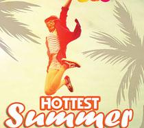 夏日旅行宣传海报PSD素材