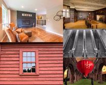 家庭室內風格設計攝影高清圖片