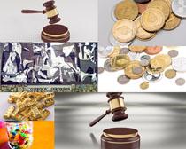 金条金币金融商务摄影高清图片