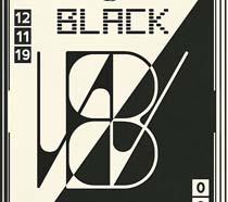 黑白英文设计广告PSD素材