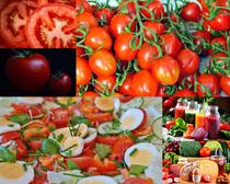 西红柿果汁营养摄影高清图片