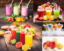 水果蔬菜果汁饮料摄影高清图片