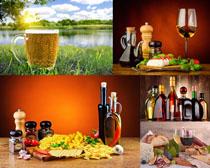 食物油配料摄影高清图片