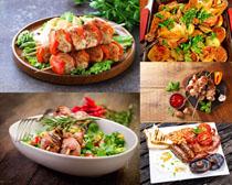 肉类烧烤美食拍摄高清图片