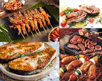 美食烧烤食物拍摄高清图片