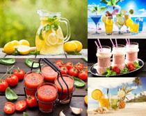 果汁水果饮料摄影高清图片